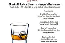 Joseph's Restaurant / Take a sneak peak of our food presentations, menu and atmosphere.  / by Renault Winery