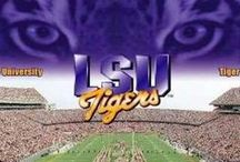 LSU Tiger Items & Cheers 4 Football Sports Fans /  LSU TIGERS - LSU TIGERS colors purple & gold - Louisiana State University - football sports and general encouragement of our Hearts and souls with us the lifelong fans!!  / by Cajun Fire