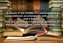 Library & Book Quotations / Lovers of libraries and reading express themselves.