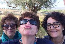 Selfie a volontà / Selfie in compagnia, amicizia e allegria