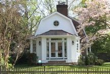 Just Right in AU Park / Architect: Seth Ballard, AIA, NCARB -- AU Park, Washington, D.C. -- At our first meeting, Ballard drew a sketch that looked much like the completed project. We added a deep bay window in the back with a built in day bed for visiting guests.