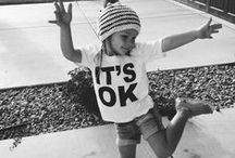 M I N I M E | www.juneandjulian.com / #kidsfashion #babyfashion #monochrome #monochromefashion #minime #babyclothes #kidsclothes