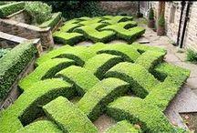 jardins e exteriores