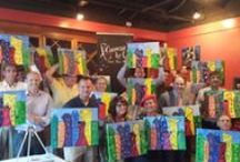 Paint Mix Mingle / Changing lives one brush stroke at a time.... Painting Classes