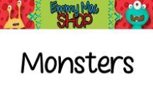 Monsters / Great ideas for my Monster Unit!