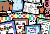 """My TpT Products / You can find all these items available at my TpT store. <a href=""""http://www.teacherspayteachers.com/Store/The-Imagination-Nook"""">TheImaginationNook</a>"""