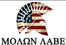 MOΛΩΝ ΛABE Come and Take It / Molon labe. Guns and the 2nd Amendment. Fight for your rights.