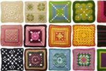 Crochet squares -free patterns