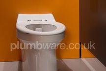 Plumbware Toilets / A range of toilets available to buy online