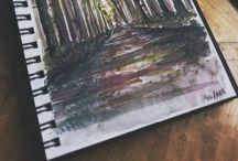 - not art class - / by ɛɱıƖყ ✖