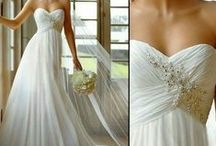 The dress / Bride, Maid of Honor, Bridesmaids, Flower Girl