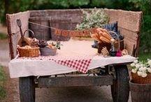 Picnic Theme Wedding