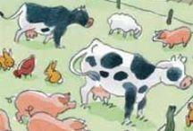 dieren, boerderijdieren/huisdieren / by Minet Willemsen
