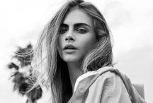 Cara ♡ / My modeling inspiration. I absolutely LOVE Cara ♡