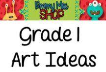 Art / Great art ideas for Grade 1 students!