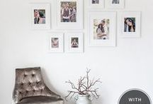 For Your Walls :: Picr / Spruce up your walls with these killer photo layout ideas...
