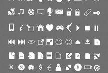 C R E A T I V E @ Vector icons
