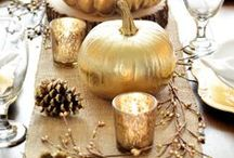 Thanksgiving Decoration :: Picr / Ideas for decorating your house for the fall Thanksgiving holidays.
