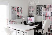Lovely office.