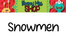 Snowmen / Ideas for a Snowmen Unit