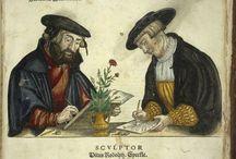 Botany, kasveja, yrttejä, medieval / http://wellcomeimages.org/
