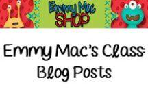Blog Posts by Emmy Mac / http://emmymacsclass.blogspot.com