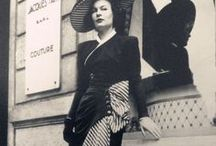 Fashion and elegance / Fashion of the times when the women were ladies