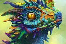 Dragon / Egy kis inspiráció hogyan fessem ki a falat