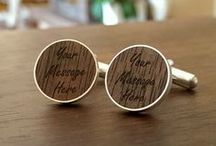 Personalized cufflinks / Personalized cufflinks, custom cufflinks,  engraved cufflinks, initials & monogram cufflinksor, logo cufflinks | Handmade | FREE engraving great for Gift Idea, Birthday Gift, Groom, Wedding or any special occasion |