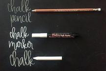 chalkboard art / Chalkboard art, chalkboard lettering, chalkboard wall, chalk art