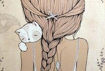 art & illustration / by Lovelytocu