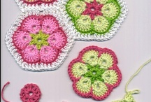 Crochet III ~ Motifs & Misc. Patterns / *Free* patterns & inspiration for design or colors. / by Trish W