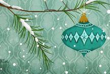 Christmas illustrations / by Ideasfromtheforest Saartje Janssen