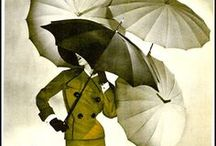 "Rainy Days, Umbrellas, Parasols, & Rain Gear / ""Anyone that thinks that sunshine is pure happiness, has never danced in the rain"" / by Heather McClanahan"