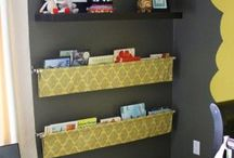 Organization - Kid's Bedroom / Organizing a kids room may seem like a losing battle, but you can get ideas here!