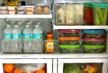 Food Storage Organization / Pantries come in so many sizes and have so many functions I am often asked how to organize a pantry.