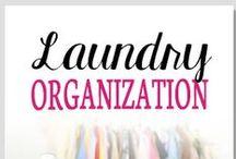 Organization - Laundry / by Lisa @ Organize 365