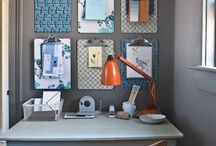 Home Office Organization / Home office organization tips, home office organizers and home office organization ideas.