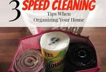 Cleaning Organization / An organized and clean home is the goal of many homeowners. Here are some spring cleaning tips.