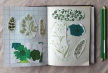Calendar, inspiration boards & notebooks / by Ideasfromtheforest Saartje Janssen