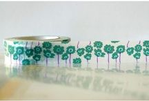 Washi tape / by Ideasfromtheforest Saartje Janssen