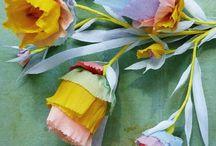 Paper: Flowers / by Ideasfromtheforest Saartje Janssen