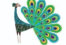 Peacock / by Ideasfromtheforest Saartje Janssen