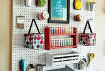 Craft Organization / As a home organization consultant I have organized MANY spaces and craft rooms top the list. Scrapbook area organization, organizing fabrics, craft and scrapbook supply organization tops the list.