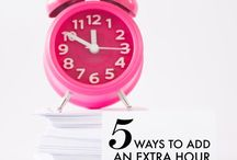 Organizing Your Time / Time management tips work! In my home personal organization time management is a top priority!