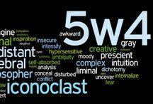 Enneagram Triad 5w4, 9w1, 4w5 / by Robyn Lea