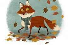 Fox / by Ideasfromtheforest Saartje Janssen