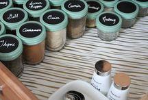 Spice & Recipe Organization