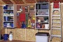 Shed & Storage Unit Organization