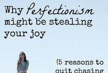 Perfectionism / How to overcome being a perfectionist and stop people pleasing and procrastination. Embrace imperfection!